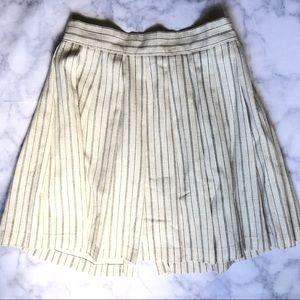 Dresses & Skirts - Striped Ivory Skirt